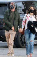 JORDANA BREWSTER and Mason Morfit Out Kissing in Malibu 02/25/2021
