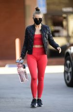 JULIANNE HOUGH Out Shopping in Los Angeles 01/31/2021