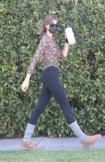 KAIA GERBER Heading to Her Daily Workout in West Hollywood 02/27/2021