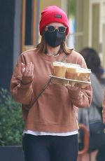 KATE MARA Out and About in Los Feliz 02/10/2021