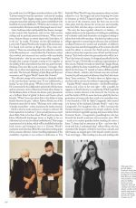 KATE MOSS in Vogue Magazine, UK March 2021