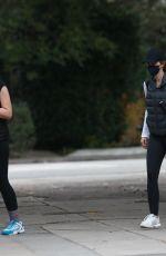 KATHERINE and CHRISTINA SXHWARZENEGGER Heading to a Tennis Match in Santa Monica 02/01/2021