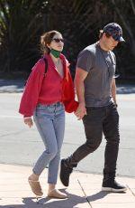 KATHERINE SCHWARZENEGGER and Chris Pratt Out in Santa Barbara 02/14/2021