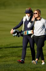 KATHRYN NEWTON Competing in AT&T Pebble Beach Pro Am Golf Tournament 02/10/2021