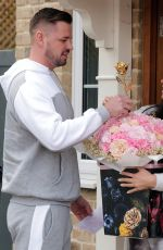 KATIE PRICE and Carl Woods on Valentine