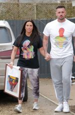 KATIE PRICE and Carl Woods Out in London 02/12/2021