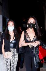 KELLY MI LI  and KANE LIM at Catch LA in West Hollywood 02/27/2021