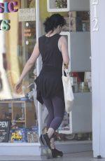 KRYSTEN RITTER leaves a Gym in Los Angeles 02/23/2021