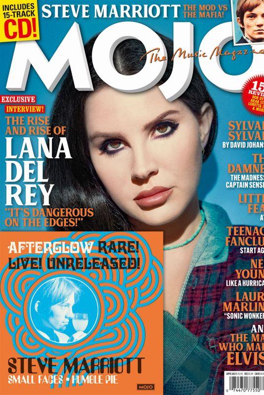 LANA DEL REY on the Cover of Mojo Magazine, April 2021
