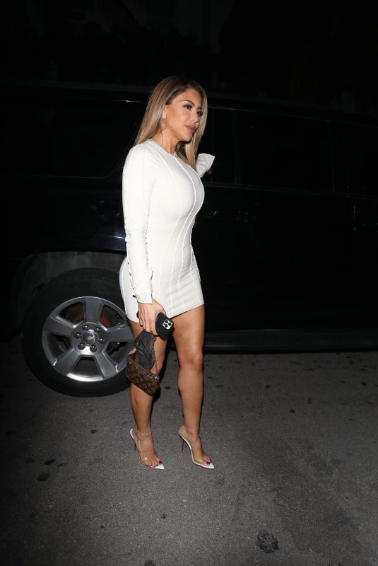 LARSA PIPPEN Arrives at Carbone in Miami 02/03/2021