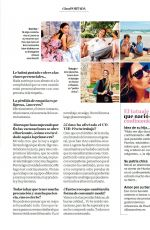 LAURA SANCHEZ in Clara Magazine, March 2021