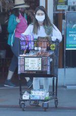 LAUREN PARSEKIAN Out Shopping in Los Feliz 02/24/2021