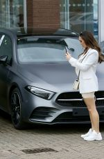 LAURYN GOODMAN Out for Car Shopping in Worcestershire 02/25/2021