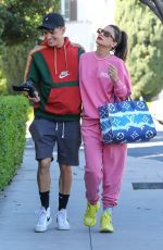 LEXY PANTERRA and Alex Wassabi Out in Los Angeles 02/23/2021