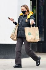 LILY-ROSE DEPP Shopping a Whole Foods in New York 02/17/2021