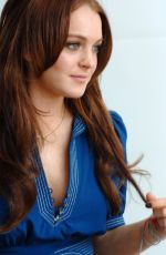 LINDSAY LOHAN - Just My Luck Press Conference 04/28/2006