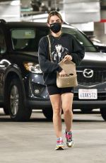 LUCY HALE Shopping at Whole Foods in Los Angeles February 02/24/2021