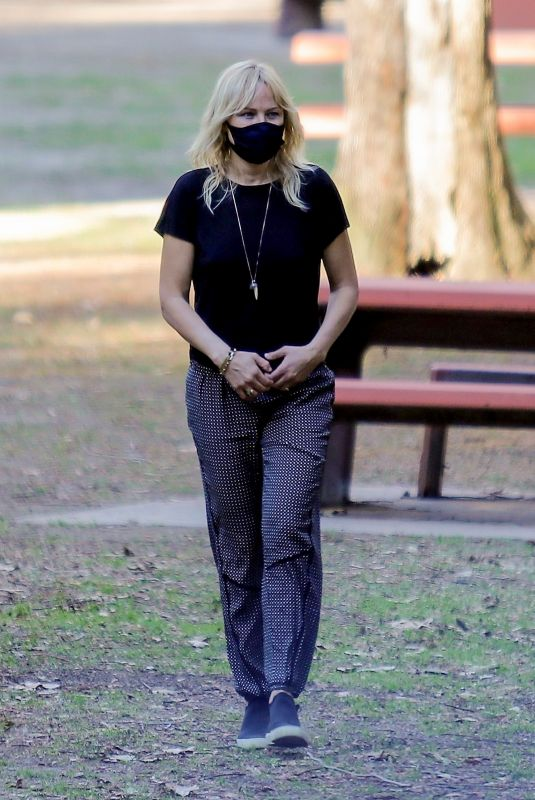 MALIN AKERMAN Out at a Park in Los Angeles 02/23/2021