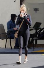 MALIN AKERMAN Out for Coffee in Silver Lake 02/20/2021