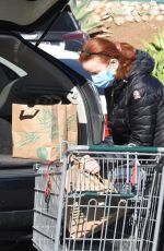 MARCIA CROSS Shopping at Whole Foods in Los Angeles 20/23/2021
