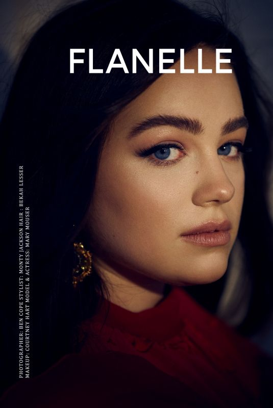 MARY MOUSER for Flanelle Magazine, February 2021