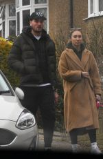 MEGAN MCKENNA Out and About in London 02/22/2021
