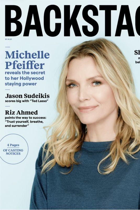 MICHELLE PFEIFER in Backstage Magazine, January 2021
