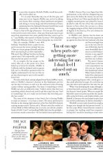 MICHELLE PFEIFFER in Town and Country Magazine, March 2021