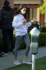 MILA KUNIS Out and About in Los Angeles 02/16/2021