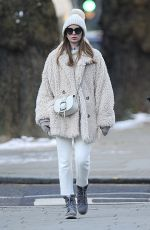 MILLIE MACKINTOSH Out and About in London 02/10/2021