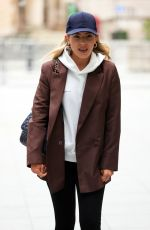 MOLLIE KING Arrives at BBC Studios in London 02/19/2021