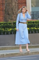 MOLLIE KING Arrives at BBC Studios in London 02/26/2021