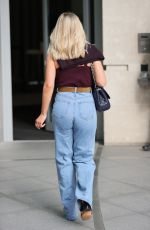 MOLLIE KING at BBC Studios in London 02/20/2021