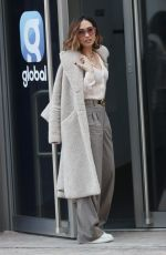 MYLEENE KLASS Arrives at Global Radio in London 02/11/2021