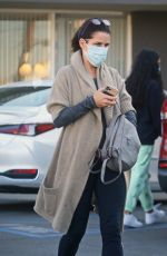 NEVE CAMPBELL Leaves Dermatologist Office in Studio City 02/04/2021