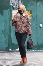 NICKY HILTON Out and About in New York 02/11/2021