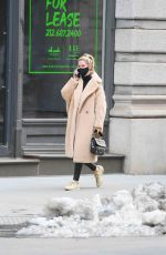 NICKY HILTON Out and About in New York 02/27/2021