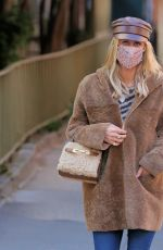 NICKY HILTON POut and About in New York 02/24/2021