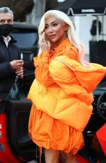 NIKITA DRAGUN Shopping at Chanel Store in West Hollywood 02/19/2021
