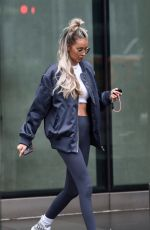 OLIVIA ATTWOOD and Bradley Dack Out in Manchester 02/24/2021