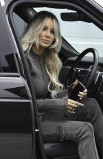 OLIVIA ATTWOOD Out and About in Manchester 02/18/2021