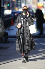 OLIVIA PALERMO and NICKY HILTON Out in New York 02/25/2021