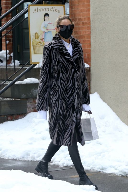OLIVIA PALERMO Out and About in New York 02/03/2021