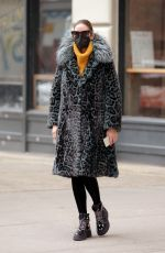 OLIVIA PALERMO Out and About in New York 02/12/2021