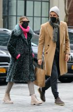 OLIVIA PALERMO Out on Valentine