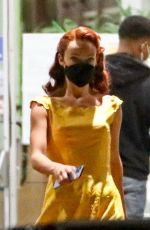 OLIVIA WILDE on the Set of Don't Worry Darling in Los Angeles 02/14/2021