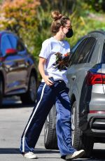 OLIVIA WILDE Out and About in Studio City 02/09/2021