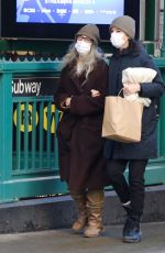PATTI and JESSE SMITH Oout in New York 02/16/2021