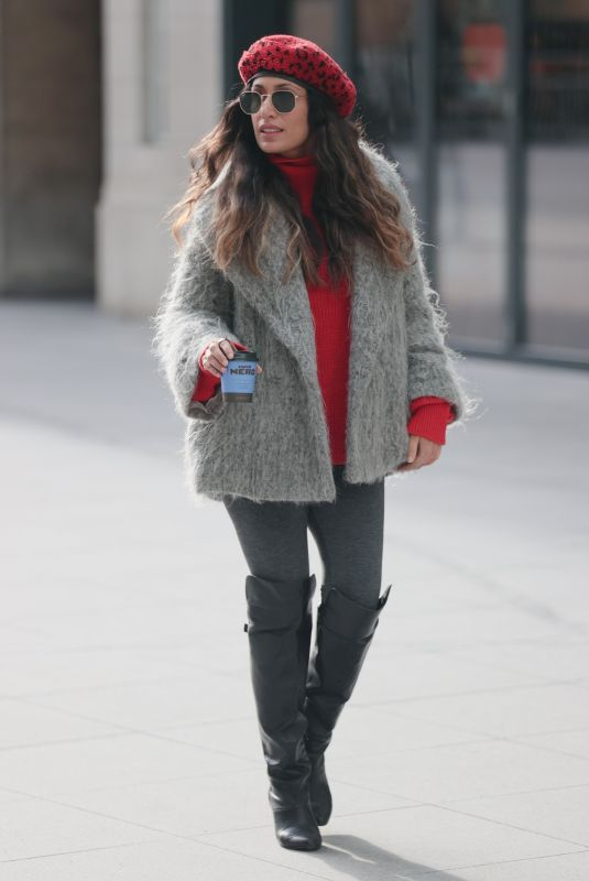 PREEYA KALIDAS Arrives at BBC Studios in London 02/13/2021