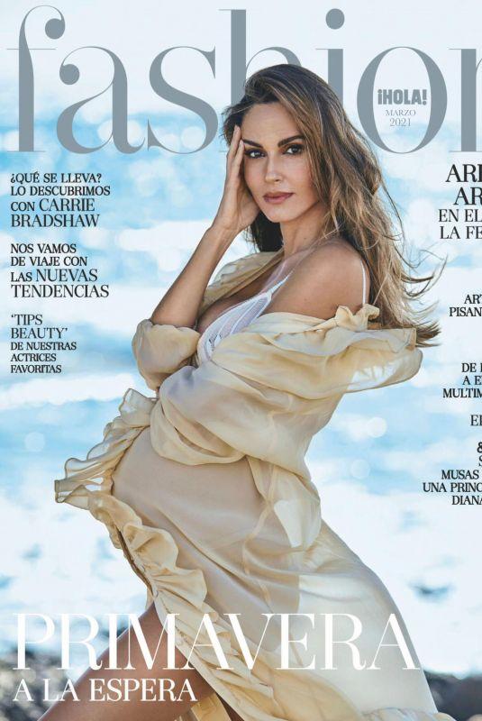 Pregnant ARIADNE ARTILES in Hola Fashion Magazine, March 2021